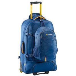 Рюкзак на колесах CARIBEE Fast Track 85 л голубой