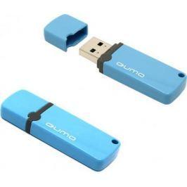 Флешка USB 8Gb QUMO Optiva 02 USB2.0 голубой QM8GUD-OP2-blue