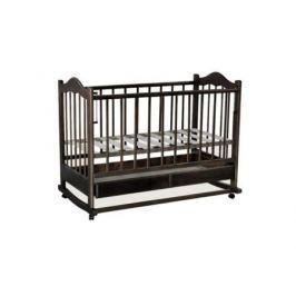 Кроватка-качалка Ведрус Кира 1 (орех)