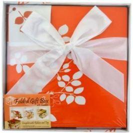 Коробка подарочная Golden Gift Цветочный узор 17x17x17 см PW1054/175