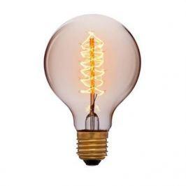 Лампа накаливания E27 60W шар золотой 053-525