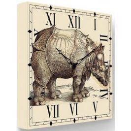Часы FotonioBox Носорог LB-009-35 бежевый