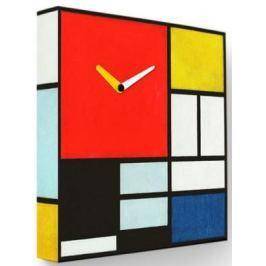 Часы FotonioBox Мондриан LB-035-35 разноцветный