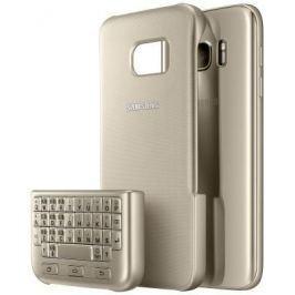 Чехол-клавиатура Samsung для Samsung Galaxy S7 Keyboard Cover золотистый EJ-CG930UFEGRU
