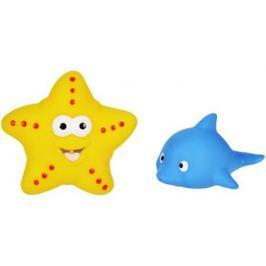 Набор игрушек для ванны Жирафики Дельфин и морская звезда 7 см 681272