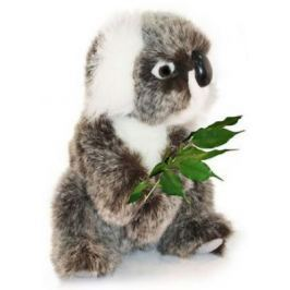 Мягкая игрушка коала Hansa Коала искусственный мех синтепон пластик разноцветный 21 см 2781