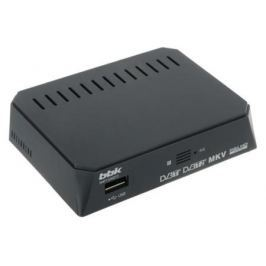 Тюнер цифровой DVB-T2 BBK SMP132HDT2 серый