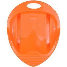 Санки-ледянка Пластик Снежный гонщик до 40 кг пластик