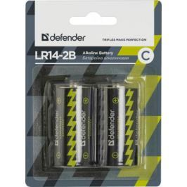 Батарейки Defender 56032 C 2 шт
