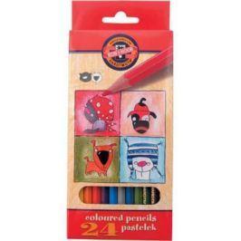 Набор цветных карандашей Koh-i-Noor Кошки+Собаки 24 шт 3594/24 5 KS