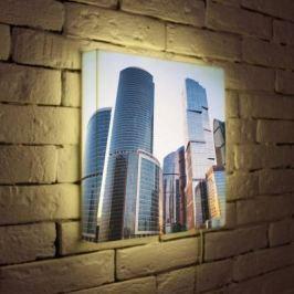 Лайтбокс Москва-Сити 35x35-008