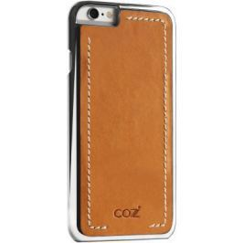 Чехол Cozistyle Leather Chrome Case для iPhone 6s серебристо-коричневый CLCC6018