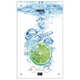 Водонагреватель проточный Zanussi GWH 10 Fonte Glass Lime 18.5 кВт
