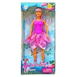 Кукла DEFA LUCY Фея 29 см в сиреневом платье 8324purple