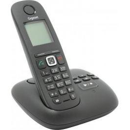 Радиотелефон DECT Gigaset A540A черный автоответчик