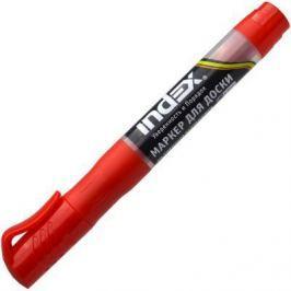 Маркер для доски Index IMWR100/RD 3 мм красный сменные чернила IMWR100/RD