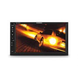 "Автомагнитола Soundmax SM-CCR3703G 7"" 800х480 USB MP3 FM RDS SD MMC 2DIN 4x50Вт пульт ДУ черный"