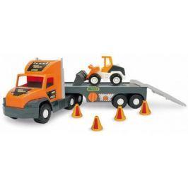 Игровой набор Wader Super Tech Truck 2 шт разноцветный с бульдозером 36720