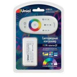 Контроллер для светодиодных лент 12/24В с пультом ДУ 2,4 ГГц (11106) Uniel ULC-G50-RGBW White
