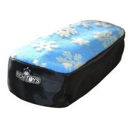 Чехол для снегокатов RT 2713 голубой мех ткань