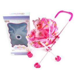 Кукла Shantou Gepai Младенец девочка в коляске 35 см GF14055