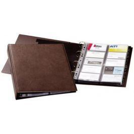 Визитница Durable Visifix A4 238411 400 шт коричневый 238411