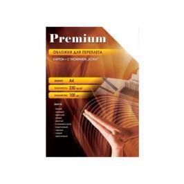 Обложки Office Kit СGA400230 А4 230г/м2 зеленый 100шт