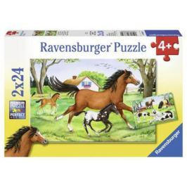 Пазл Ravensburger Мир лошадей 48 элементов