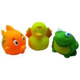 """Набор игрушек для ванны Жирафики """"Рыбка, утенок и лягушонок"""" 68861"""