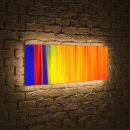 Лайтбокс панорамный Абстракция 2 45x135-p026