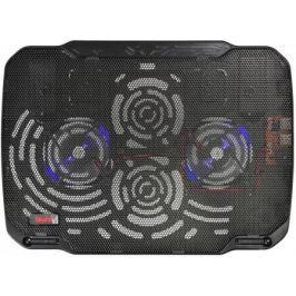 """Подставка для ноутбука 15.6"""" Buro BU-LCP156-B208 металл/пластик 1800об/мин 23db черный"""