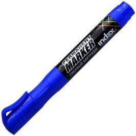 Маркер перманентный Index IMPR600/BU 2 мм синий IMPR600/BU