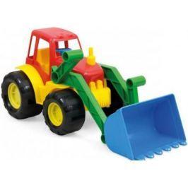 Трактор ZEBRATOYS ACTIVE с ковшом 17 см разноцветный 15-5224