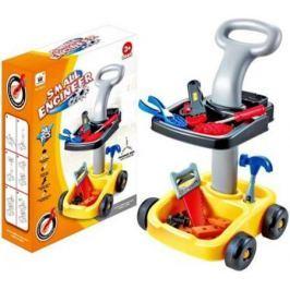 Игровой набор Shantou Gepai Столик на колесах. Маленький инженер 24 предмета W053