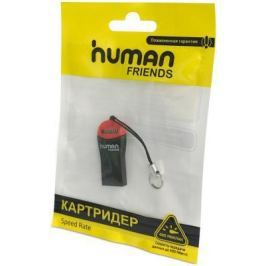 Картридер внешний CBR Human Friends Speed Rate Beat MicroSD T-Flash