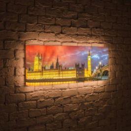 Лайтбокс панорамный Лондон 45x135-p003