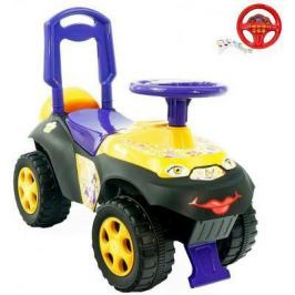 Каталка-толокар Rich Toys Автошка с музыкальным рулем Цветочная фея от 10 месяцев пластик 013117/01К фиолетово-желтая