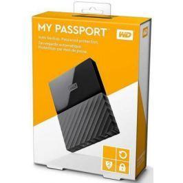 """Внешний жесткий диск 2.5"""" USB3.0 1 Tb Western Digital My Passport WDBBEX0010BBK-EEUE черный"""