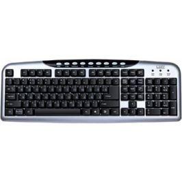 Клавиатура CBR KB 300M USB черный серебристый