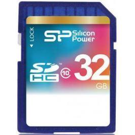 Карта памяти SDHC 32Gb Silicon Power Class10