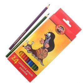 Набор цветных карандашей Koh-i-Noor КРОТ 24 шт 3654/24 26KS 3654/24 26KS