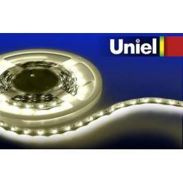 Лента светодиодная линейная Uniel 04909 LED 14.4W 2700K ULS-3528-60LED/m-8mm-IP33-DC12V-4,8W/m-3M-WW