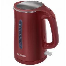 Чайник Marta MT-1065 1700 Вт красный 1.7 л металл/пластик