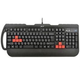 Клавиатура A4TECH X7-G700 PS/2 черный