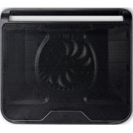 """Подставка для ноутбука 15.6"""" Deepcool N280 340x310x54mm 1xUSB 530g 21dB черный"""