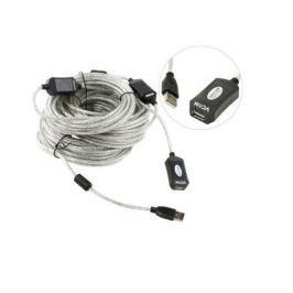 Кабель удлинительный USB 2.0 AM-AF 25м VCOM Telecom активный VUS7049-25M