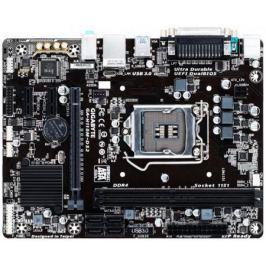 Материнская плата GigaByte GA-H110M-DS2 Socket 1151 H110 2xDDR4 1xPCI-E 16x 2xPCI-E 1x 4 mATX Retail