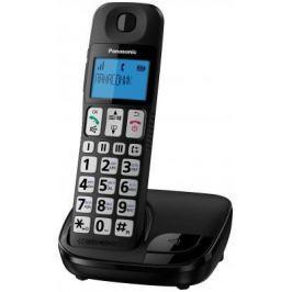 Радиотелефон DECT Panasonic KX-TGE110RUB черный