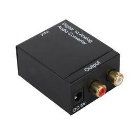 Декодер ORIENT DAC0202/N преобразование цифрового аудио сигнала в аналоговый стерео 1xToslink - 2xRCA