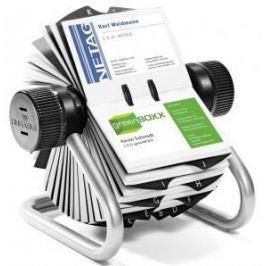 Визитница Durable Rotary Visifix 400 шт серебристый 248123
